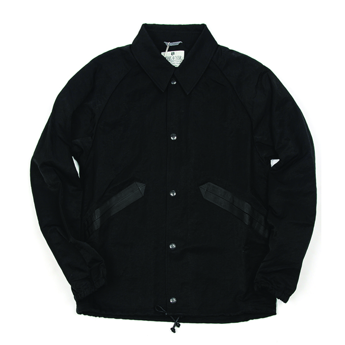 비헤비어 COACH JACKET_BLACK
