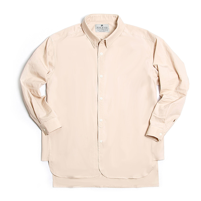 비헤비어 Fly shirts_BEIGE