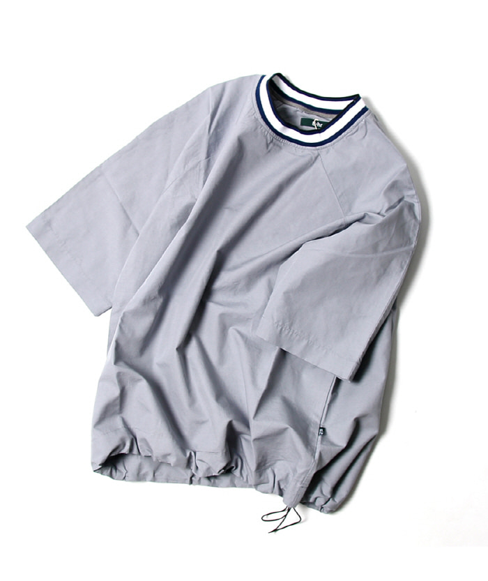 비헤비어 WEEKEND SHIRTS_Blue grey