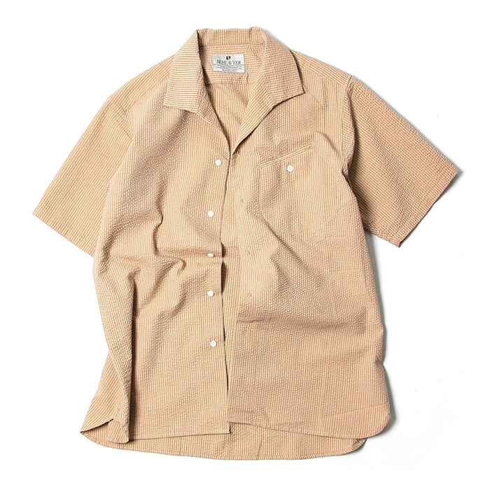 비헤비어 FLIGHT SHIRTS_BEIGE