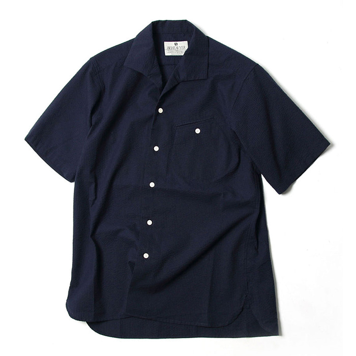 비헤비어 FLIGHT SHIRTS_NAVY