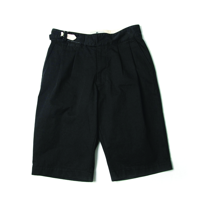 비헤비어 SUMMER HALF PANTS_BLACK